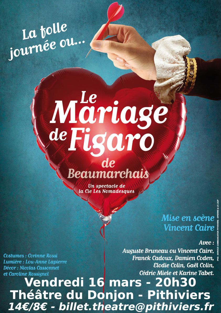 Théâtre – Le mariage de Figaro