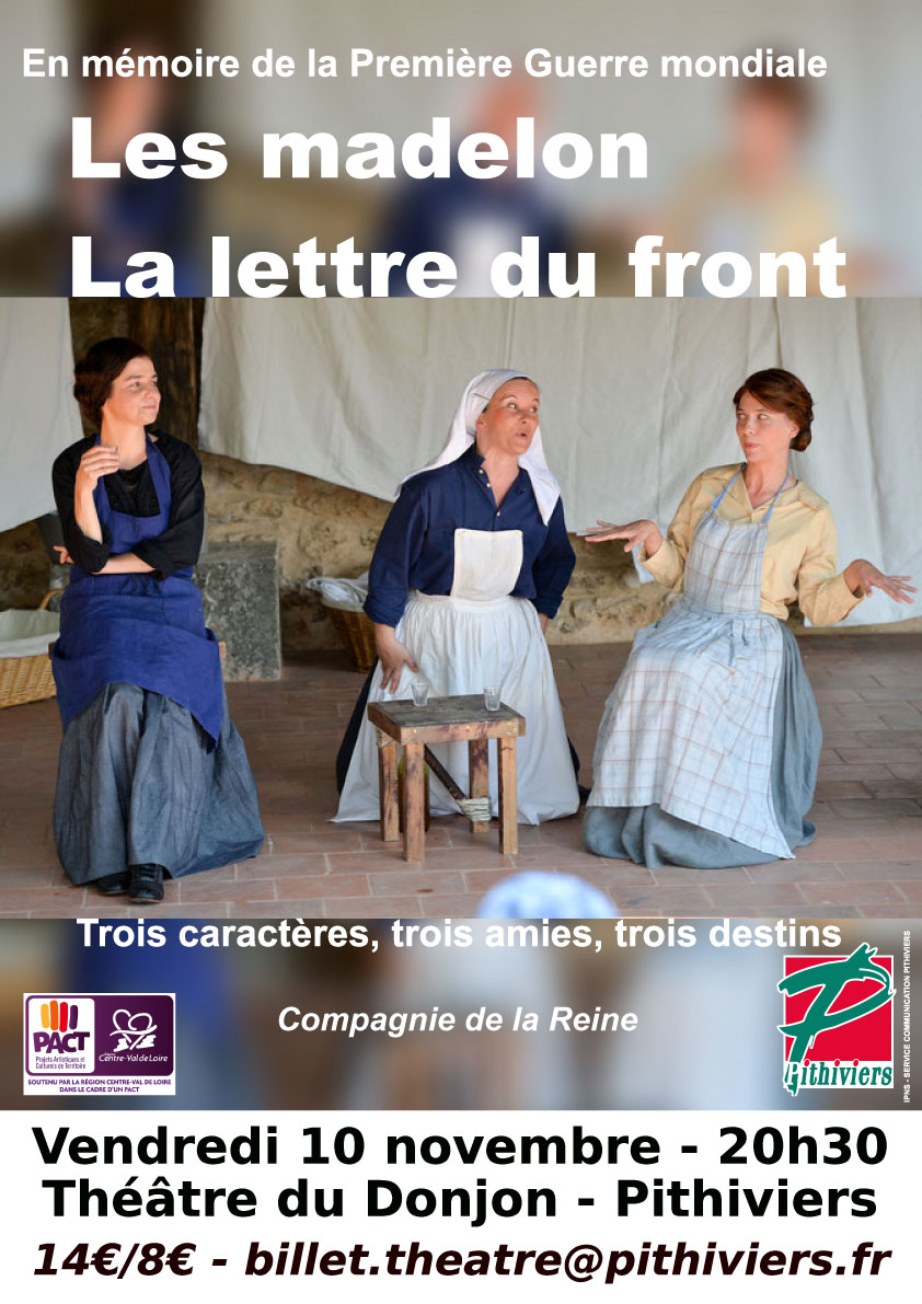 Théâtre – Les Madelon-La lettre du front