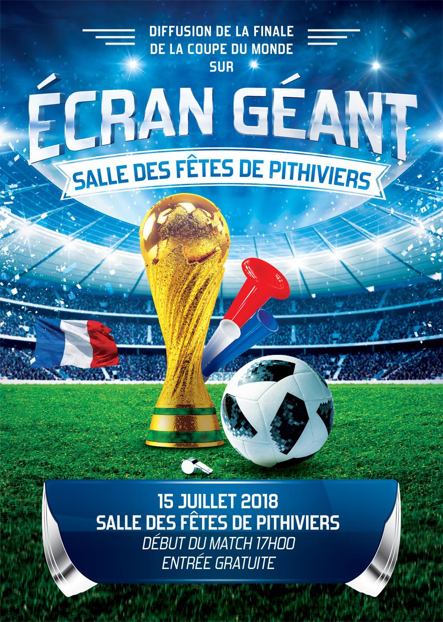 La Coupe du Monde à Pithiviers !