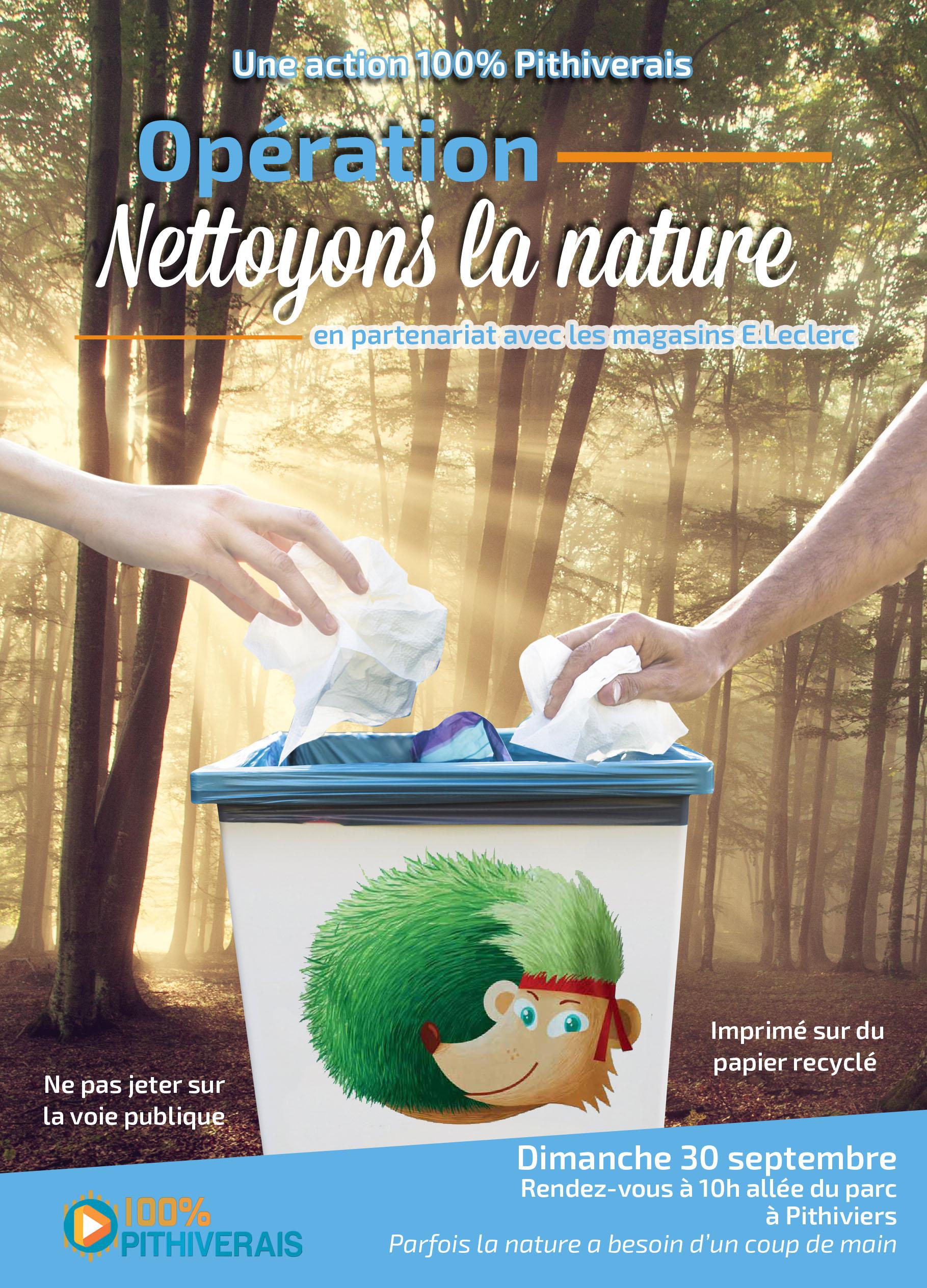 Opération Nettoyons La Nature